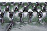 Chesterfield Zetel Original Leer   5-zit   Antiek groen   12 jaar garantie_