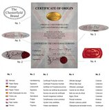 Chesterfield Fauteuil Original Leer   Antiek bruin   12 jaar garantie_
