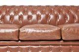 Chesterfield Zetel Vintage Leer | 4-zit | Mokka | 12 jaar garantie_